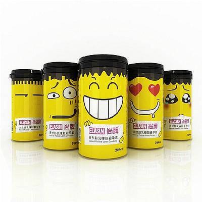 尚牌24片创意新颖装小黄人5款泰国入口避孕套
